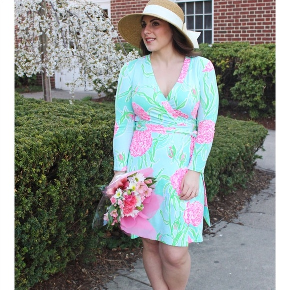 e6543b76ab20a3 Lilly Pulitzer Dresses & Skirts - Lilly Pulitzer Meridian wrap dress xl